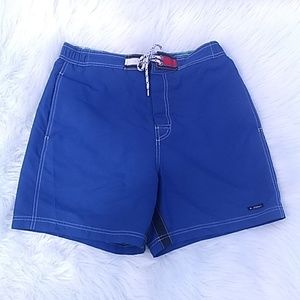 Tommy Hilfiger Blue swim trunks size Medium